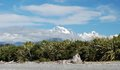 Southern Alps. View from Gillespies Beach Stock Photos