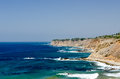 Southern california coastline the in the los angeles area Stock Image