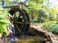 Southern country waterwheel this is a in the state of tennessee near an old mill the pace is slower the feeling you get is from Stock Photo