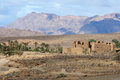 Southern Moroccan Landscape Royalty Free Stock Photo