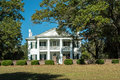 Southern Plantation Mansion Royalty Free Stock Photo