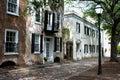 Southern style homes on Gillion St. Charleston, SC