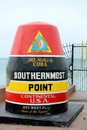 Southernmost Point in Key West, Florida Royalty Free Stock Photography