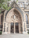 Southwark cathedral london the church south bank uk Royalty Free Stock Images