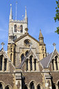Southwark cathedral in london the historic Stock Photo