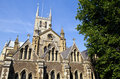 Southwark cathedral in london the historic Stock Photos