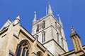 Southwark cathedral in london the historic Stock Photography