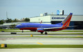Southwest airlines boeing passenger jet fort lauderdale usa june arrives in fort lauderdale fl is the largest domestic Stock Photos