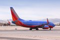Southwest airlines las vegas usa april boeing of at las vegas mccarran international airport is the largest operator in Stock Photo
