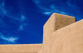 Southwestern architecture adobe design feature Royalty Free Stock Photo