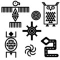 Southwestern Icons Royalty Free Stock Photo