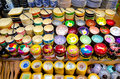 Souvenir bowls at siem reap night market cambodia feb various for sale the of it serves as a gateway to the world famous Stock Image