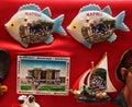 Souvenir Magnets Royalty Free Stock Photo