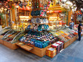 Souvenir shop large in istanbul turkey the located in central istanbul also sells spices and food photograph taken on june Stock Images