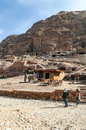 Souvenir shop in the ruins of petra is an editorial image on a sunny day Stock Photography