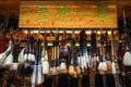 Souvenir shops at ancient town in Chengdu, China Royalty Free Stock Photo