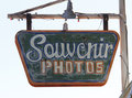 Souvenir sign Stock Image