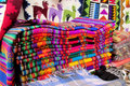 Souvenir traditional quechua textil cover Royalty Free Stock Photo
