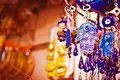 Souvenirs in delhi india close up of market Stock Image