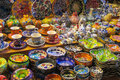 Souvenirs from Istanbul at Grand Bazar, Turkey Royalty Free Stock Photo