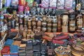 Souvenirs from marvelous paraguay mate thermos and other leather goods Stock Photo
