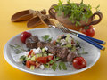 Souvlaki Royalty Free Stock Photo