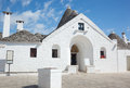Sovereign trullo in alberobello puglia italy Royalty Free Stock Photography