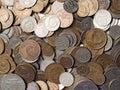 Soviet coins. Stock Photos