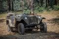 Soviet jeep Royalty Free Stock Photo