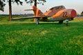 The Soviet jet military plane Royalty Free Stock Photo