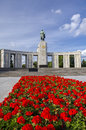 The soviet russian war memorial in berlin s tiergarten Stock Photos