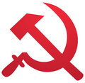 Soviet symbol Royalty Free Stock Photography