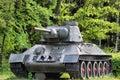 Soviet tank Royalty Free Stock Photography