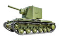 Soviet tank KV2 Royalty Free Stock Photo