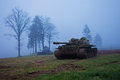 Soviet tank in WWII Royalty Free Stock Photo