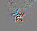 Soviet ussr star illustration