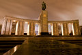 Soviet war memorial in berlin tiergarten 库存图片