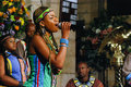 Soweto gospel choir st george s cathedral cape town Stock Photo