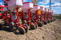 Sowing equipment Royalty Free Stock Photo