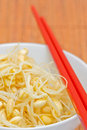 Soy bean sprouts Stock Photography