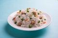Soya chunk pulav or rice