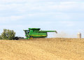 Soybean Harvest Royalty Free Stock Photo