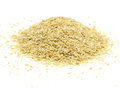 Soybean meal pile a of an ideal organic fertilizer Stock Photography