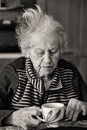 image photo : Growing old alone