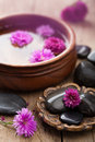 Spa and aromatherapy set Royalty Free Stock Photo