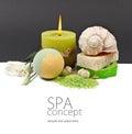 SPA background. Shallow DOF Royalty Free Stock Photo