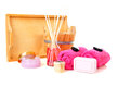 Spa and beauty accessories Stock Photo