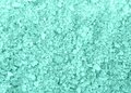 Spa blue bath salt crystals background texture macro Stock Photo