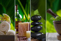 Spa collage Stock Photography