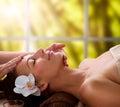 Spa Facial Massage Royalty Free Stock Photo